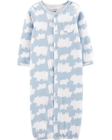 3-Piece Bear Take-Me-Home Converter Gown Set
