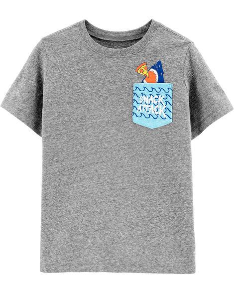 T-shirt à poche Snack Attack