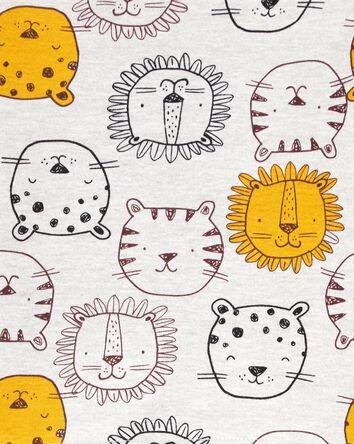 4-Piece Lion 100% Snug Fit Cotton P...