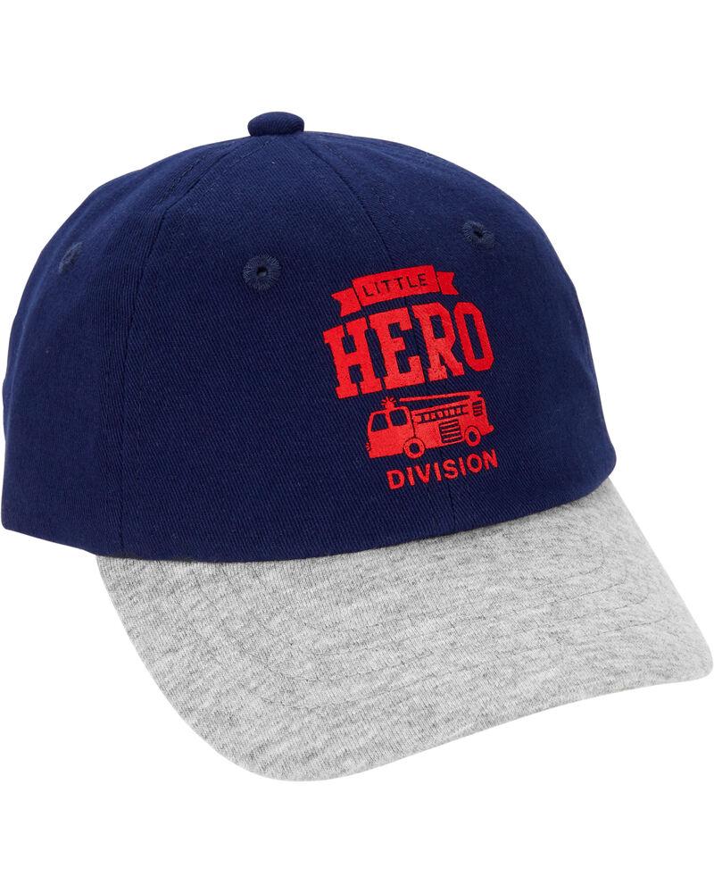 Firetruck Baseball Hat, , hi-res