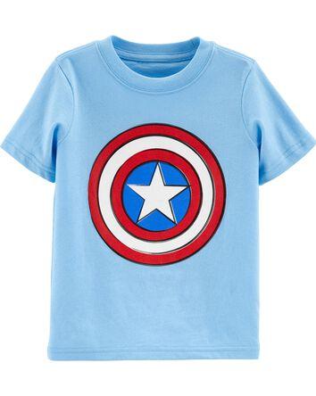 Glow Captain America Tee