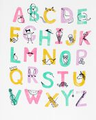 Alphabet Jersey Tee, , hi-res