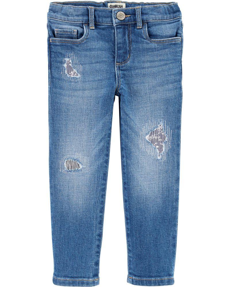Jeans décontracté vintage, , hi-res