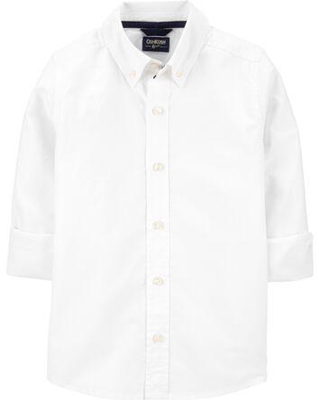 Chemise d'uniforme boutonnée