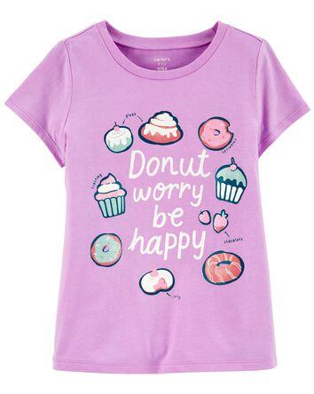 T-shrit en jersey Donut Worry