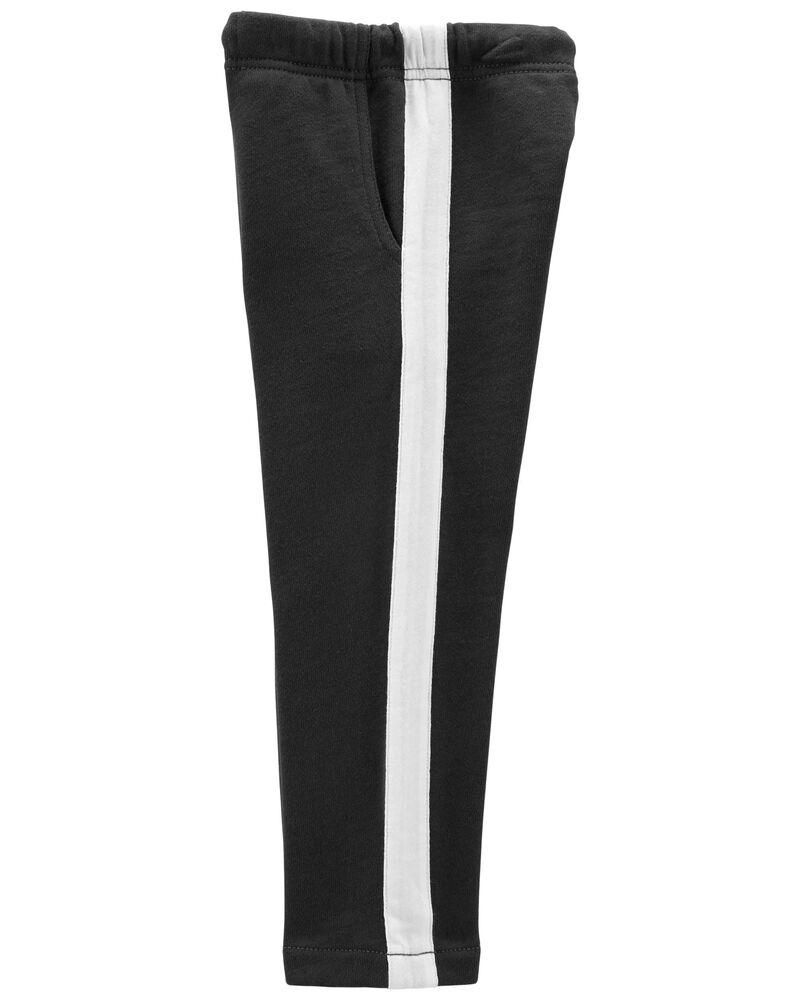 Pantalon à enfiler en jersey bouclette, , hi-res