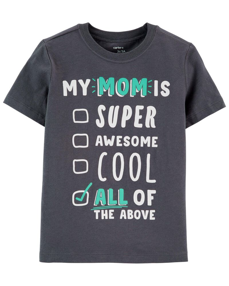 Mom Is Super Awesome Jersey Tee, , hi-res