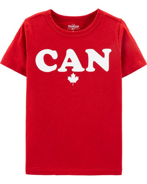 T-shirt à feuille d'érable Canada