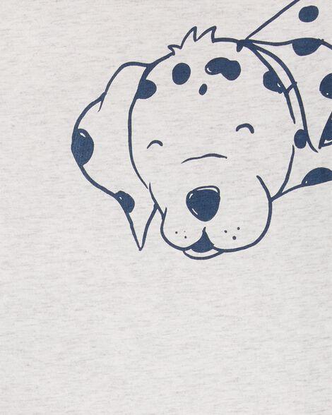 2-Piece Dalmatian Jersey Tee & Firetruck Short Set
