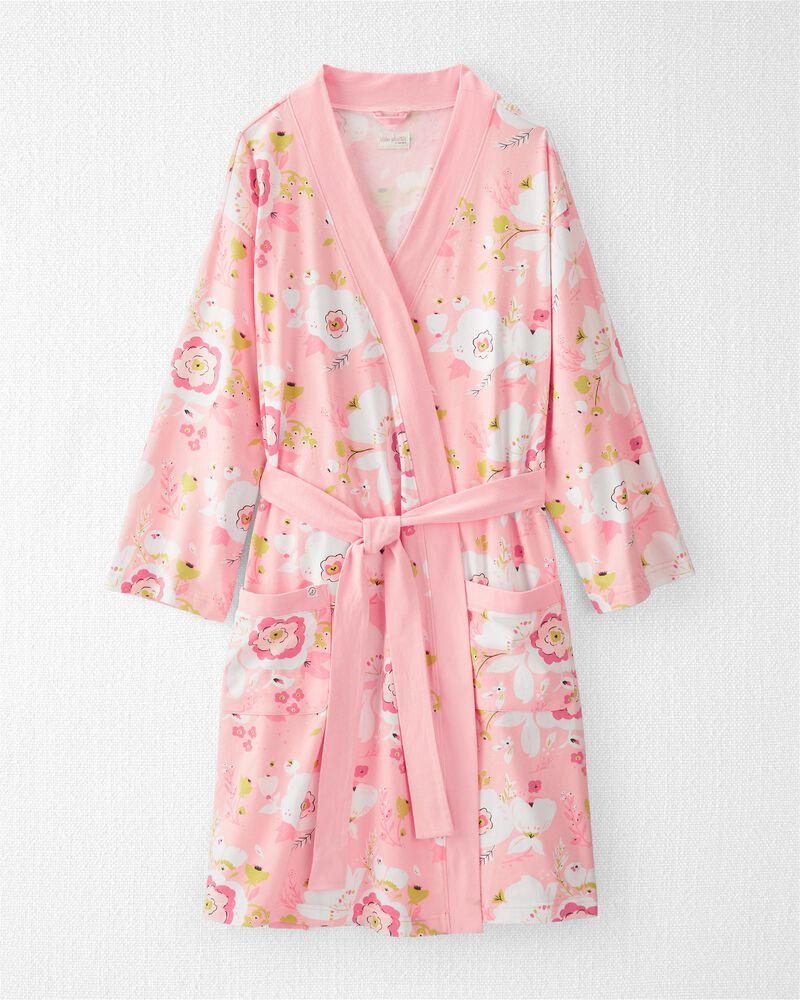 Robe de chambre adulte en coton côtelé biologique, , hi-res