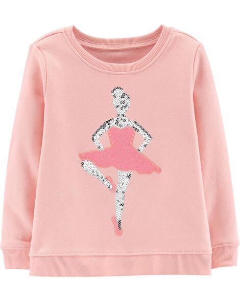 Glitter Ballerina Pullover