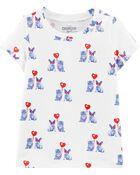 T-shirt à chat et chien de la Saint-Valentin, , hi-res