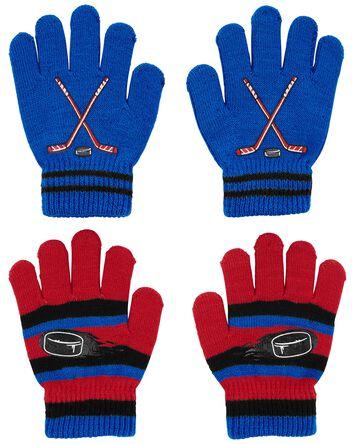 KOMBI 2-Pack Hockey Mini Glove Set