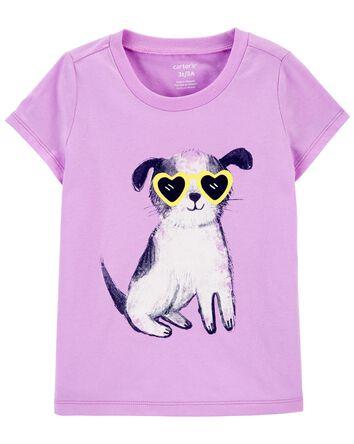 T-shirt en jersey à chien