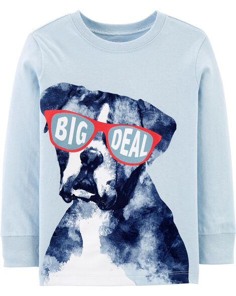 Big Deal Dog Jersey Tee