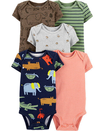 5-Pack Safari Original Bodysuits