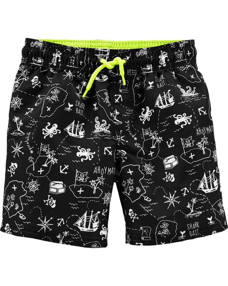 Pirate Swim Trunks
