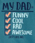 T-shirt en jersey Dad Checklist, , hi-res