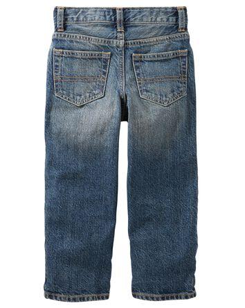Jeans classique - délavage moyen us...