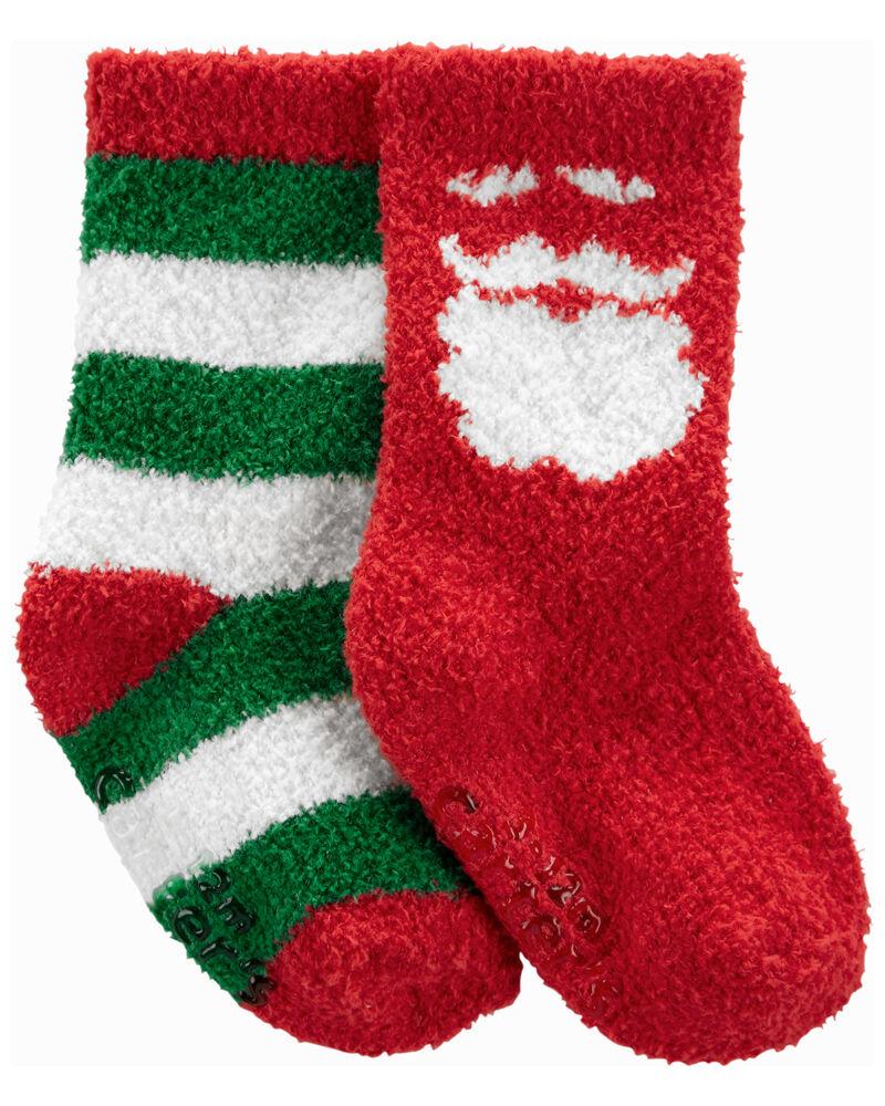 2 paires de chaussettes mi-mollet de Noël, , hi-res