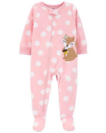 Pyjama 1 pièce avec pieds en mollet...