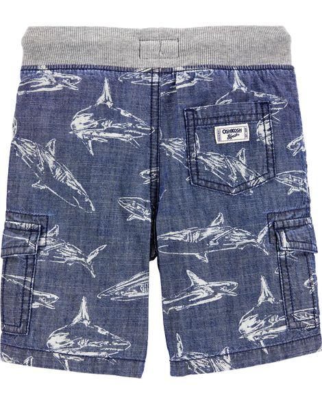 Short cargo à requin