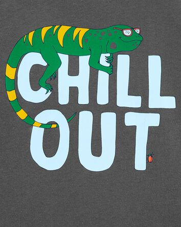 T-shirt en jersey Chill Out
