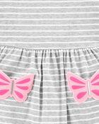 Butterfly Pocket Dress, , hi-res