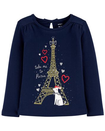 Eiffel Tower Jersey Tee