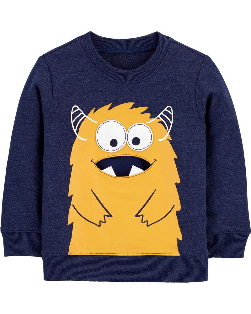 Monster French Terry Pullover, , hi-res