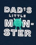 3-Piece Monster Little Short Set, , hi-res