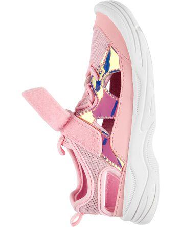 Holographic Bump Toe Athletic Sneak...
