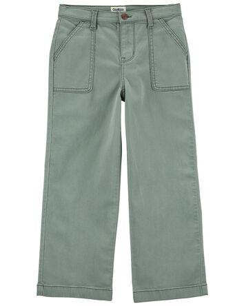 Pantalon à jambe ample