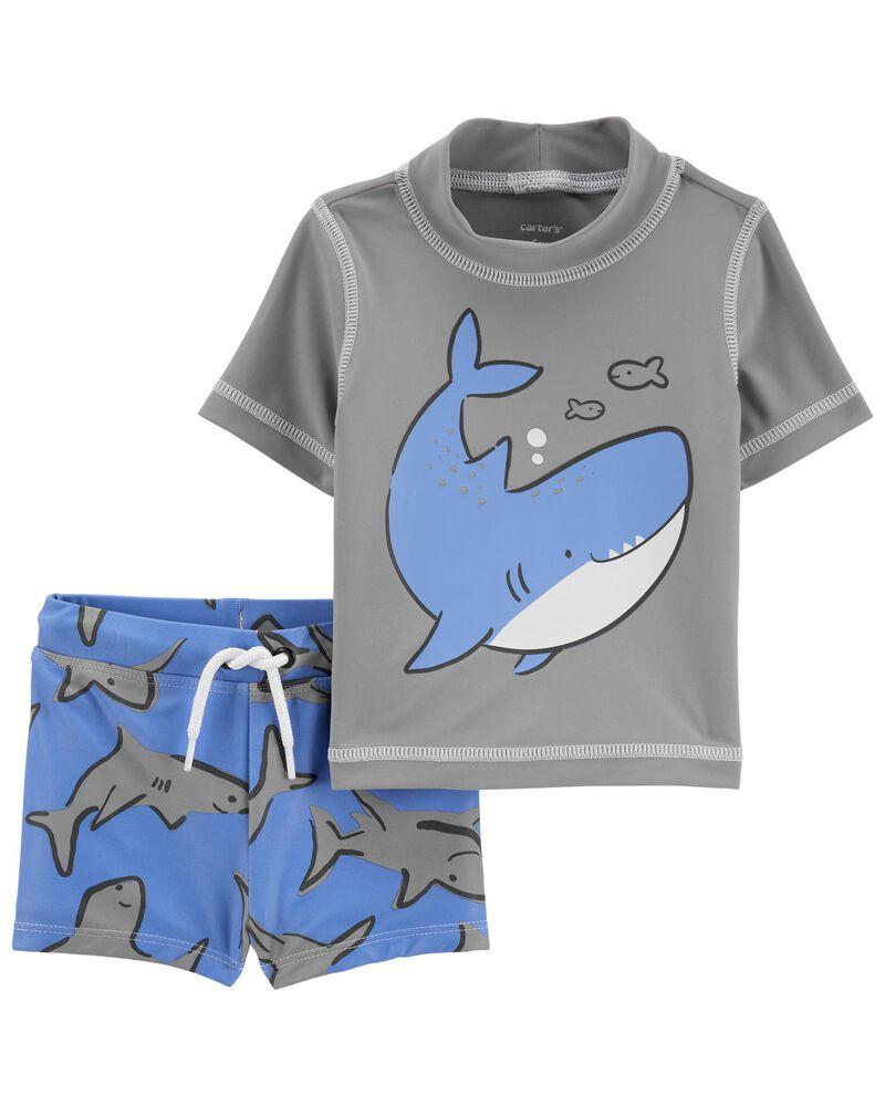 Shark Rashguard Set, , hi-res