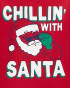 T-shirt en jersey des fêtes Chillin'  , , hi-res