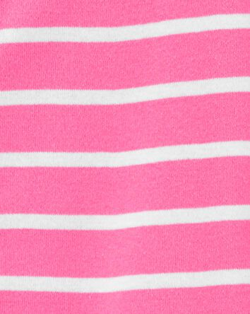 1-Piece Striped Snug Fit Cotton Foo...