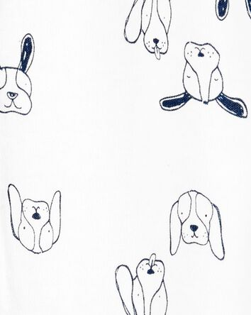 Dog Snap-Up Cotton Sleep & Play