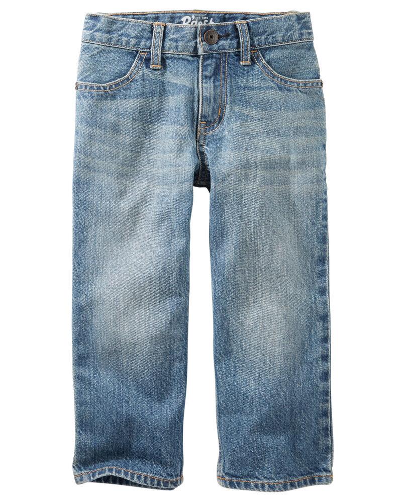 Classic Jeans - Natural Indigo Wash, , hi-res