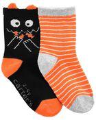 2 paires de chaussettes d'Halloween, , hi-res