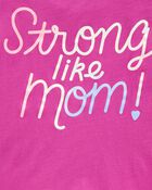 Strong Like Mom Jersey Tee, , hi-res