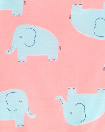 3-Piece Elephant Loose Fit PJs