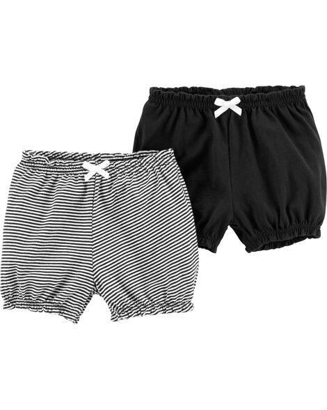 Emballage de 2 shorts bouffants