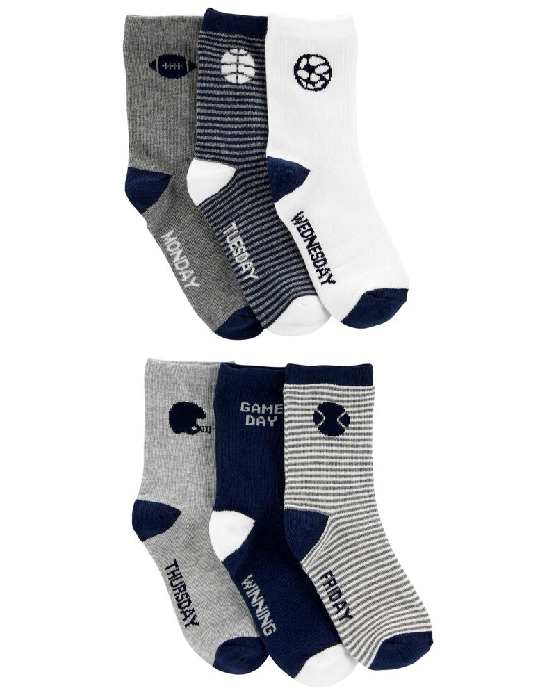 3 paires de chaussettes mi-mollet, , hi-res