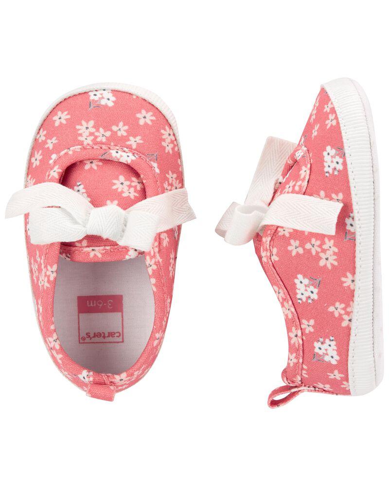 Floral Baby Shoes, , hi-res
