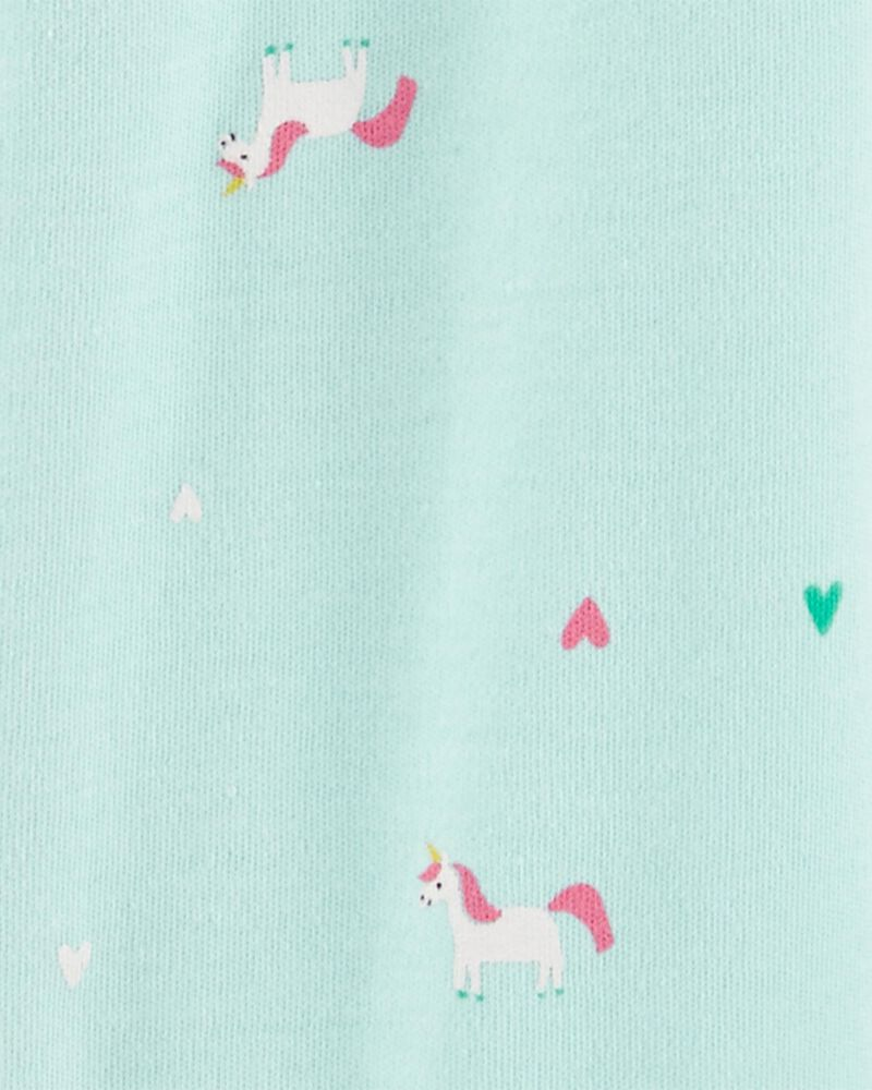 Unicorn Snap-Up Cotton Sleep & Play, , hi-res