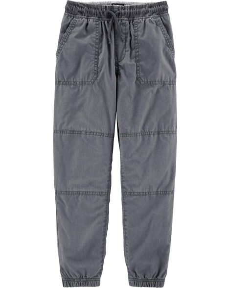 Jersey-Lined Joggers