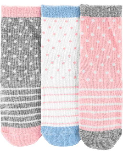 3-Pack Character Socks