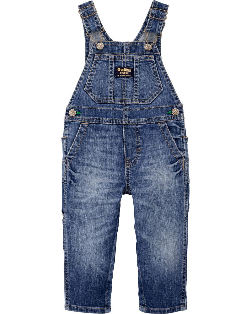 Family Matching Denim Overalls For Baby, , hi-res