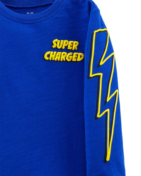Super-Charged Jersey Tee
