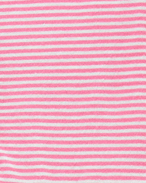 2-Piece Strawberry Jersey Dress & Polka Dot Legging Set